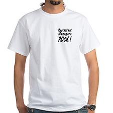 Restaurant Managers Rock ! Shirt