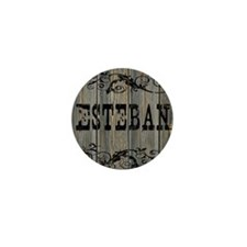 Esteban, Western Themed Mini Button