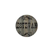 Estevan, Western Themed Mini Button