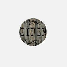 Ethen, Western Themed Mini Button