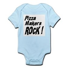 Pizza Makers Rock ! Onesie
