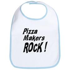 Pizza Makers Rock ! Bib