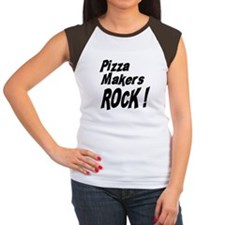 Pizza Makers Rock ! Women's Cap Sleeve T-Shirt