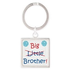 Middle Brother Square Keychain