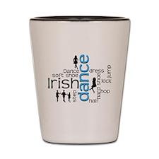 Cute Irish dance Shot Glass