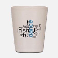 Cute Irish dancer Shot Glass