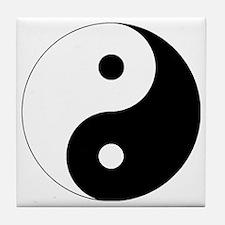 yinyanglightNew Tile Coaster