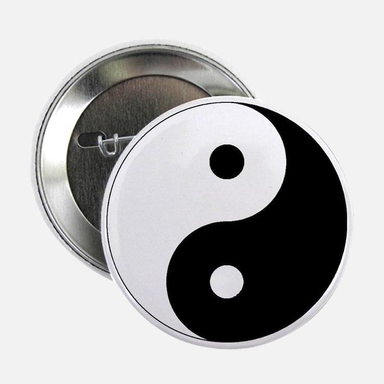 "yinyanglightNew 2.25"" Button"