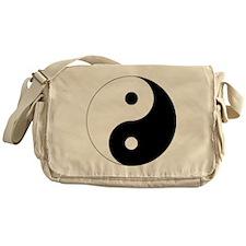 yinyanglightNew Messenger Bag