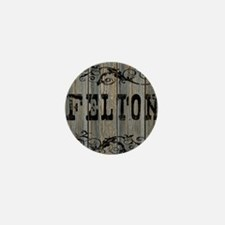 Felton, Western Themed Mini Button