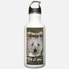 StonePawsWestieTankGCU Water Bottle