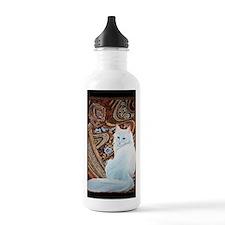 White Turkish Angora t Sports Water Bottle