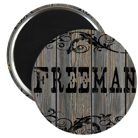 Freeman, Western Themed Magnet