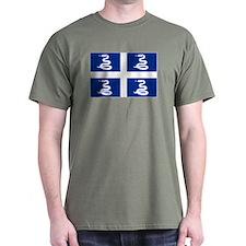 Martinique flag unofficial T-Shirt