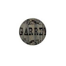 Garret, Western Themed Mini Button