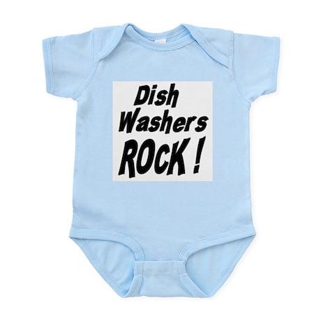 Dish Washers Rock ! Infant Bodysuit