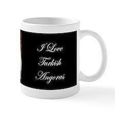 White Turkish Angora bumper Mug