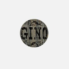 Gino, Western Themed Mini Button