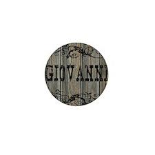 Giovanni, Western Themed Mini Button