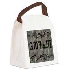 Giovani, Western Themed Canvas Lunch Bag
