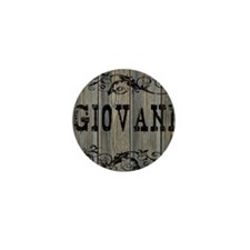 Giovani, Western Themed Mini Button
