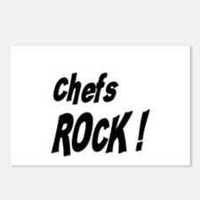 Chefs Rock ! Postcards (Package of 8)