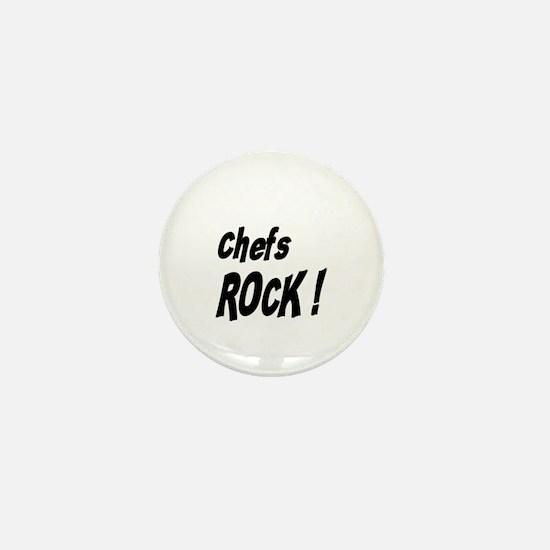Chefs Rock ! Mini Button