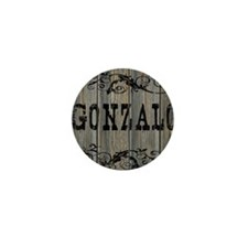 Gonzalo, Western Themed Mini Button