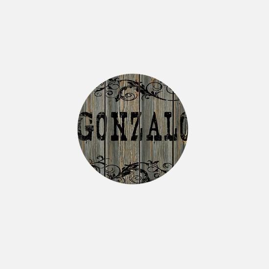 Gonzalo, Western Themed Mini Button