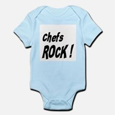 Chefs Rock ! Infant Bodysuit