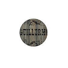 Guillermo, Western Themed Mini Button