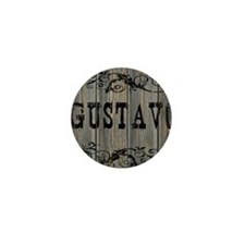 Gustavo, Western Themed Mini Button