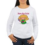 Future Hair Stylist Women's Long Sleeve T-Shirt