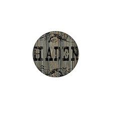 Haden, Western Themed Mini Button