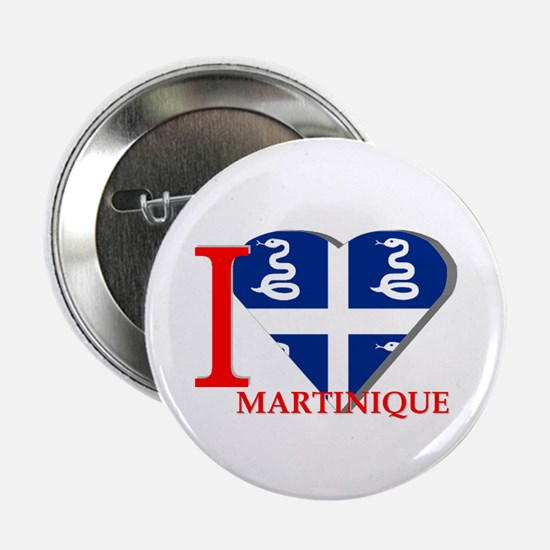 I love Martinique Button