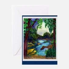Summer Day of the Mississippi Path Greeting Card
