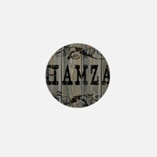 Hamza, Western Themed Mini Button
