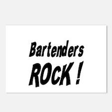Bartenders Rock ! Postcards (Package of 8)