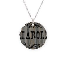 Harold, Western Themed Necklace Circle Charm