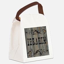 Ibrahim, Western Themed Canvas Lunch Bag