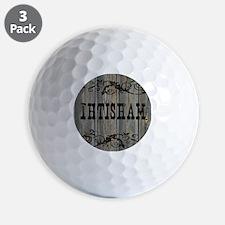 Ihtisham, Western Themed Golf Ball
