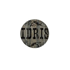 Idris, Western Themed Mini Button