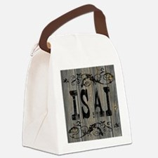 Isai, Western Themed Canvas Lunch Bag