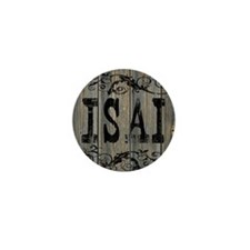 Isai, Western Themed Mini Button