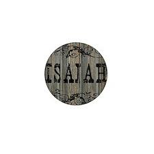 Isaiah, Western Themed Mini Button