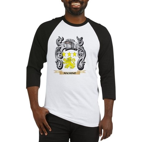 Maurino Coat of Arms - Family Cres Baseball Jersey