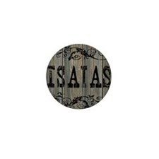 Isaias, Western Themed Mini Button