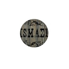 Ismael, Western Themed Mini Button