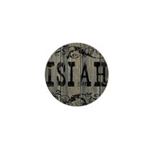 Isiah, Western Themed Mini Button