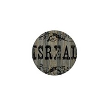Isreal, Western Themed Mini Button